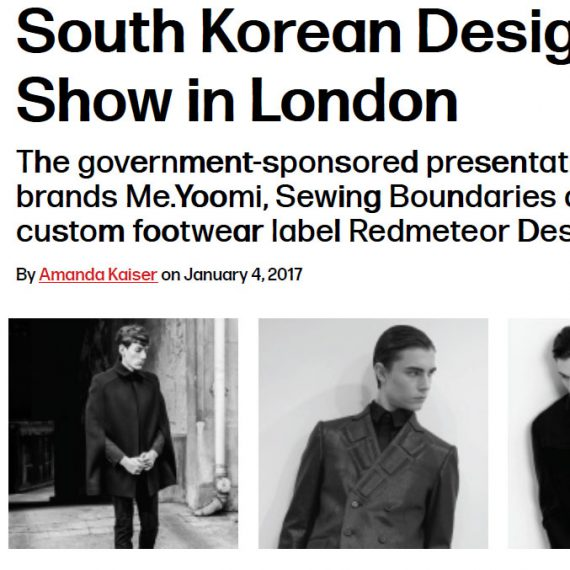 South Korean Designers Set to Show in London – WWD